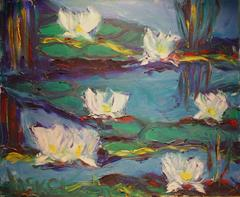 Rye Waterlilies in the wind