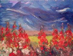Red Norwegian Flowers