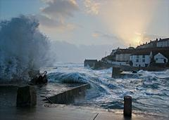 Trick of the light - Porthleven, UK