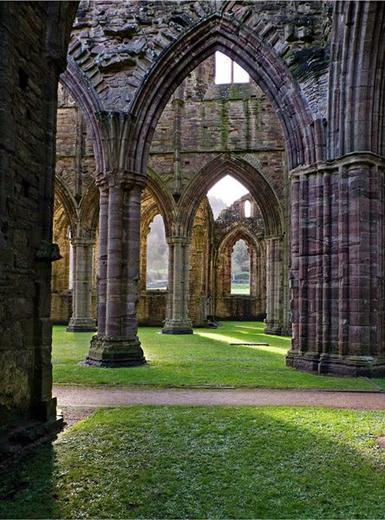 Melody in stone - Tintern Abbey, UK