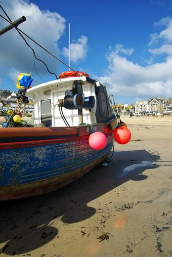 Working the sea - St. Ives, UK